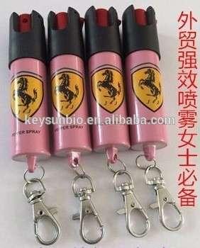 市场供应的自我防卫的胡椒喷雾在中国