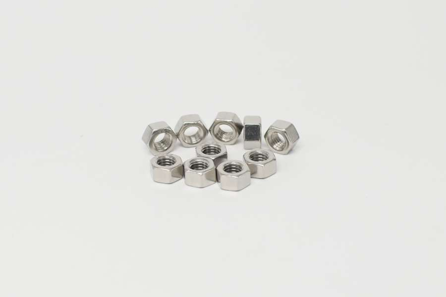 Stainless Hex Nut M5-0.8P A/F=8 H=4.7mm