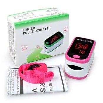 廉价的数字手指血氧仪LED显示pulsioximetro脉搏血氧仪SpO2 PR oximetro德德多,血氧的手指