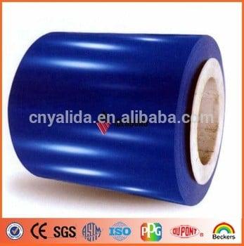 成本价格PVDF和PE彩色涂层铝线圈ACP