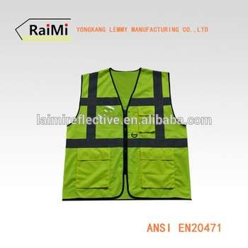 Production industrial vests