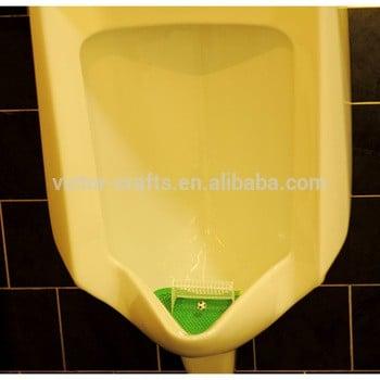 维克多工艺品制造厂批发足球厕所小便斗男子世界杯尿屏垫与足球的目标