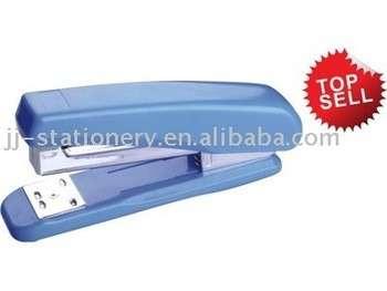 办公文具订书机热塑料,蓝色