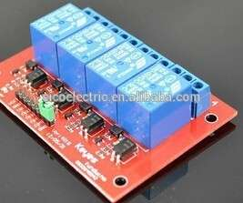 4 Channel Relay Module Expansion Module 5V Or 12V Relay For Arduino