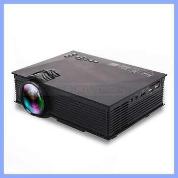 800×480分辨率uc46家用高清1080P无线WiFi移动智能LED投影机