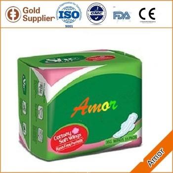热销售OEM品牌卫生巾制造商,散装卫生巾