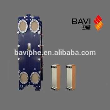 巴威制冷机组换热器商用空调换热设备
