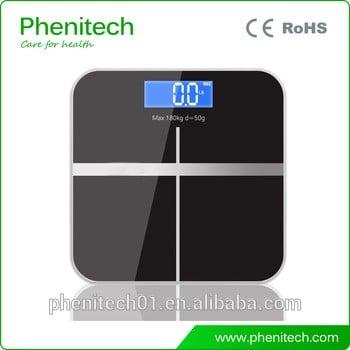 数字式人体脂肪分析仪浴室秤/电子秤
