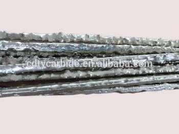 焊条堆焊碳化钨复合材料