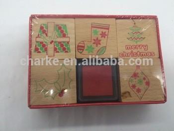 木橡皮卡通邮票