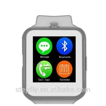 中国品牌的智能手表1 D3 1.44英寸触摸屏四频GSM mtk6261 SIM卡槽的智能手机手表