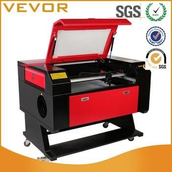 彩色屏幕700×500mm的60w CO2激光管激光雕刻机/雕刻/切割机最好的价格