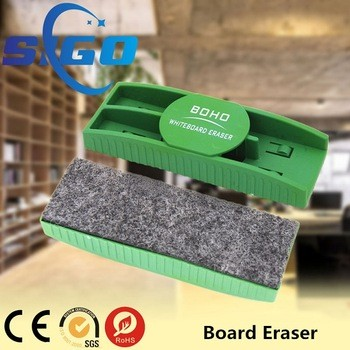 [Made-In-China]glass whiteboard eraser with pen holder price