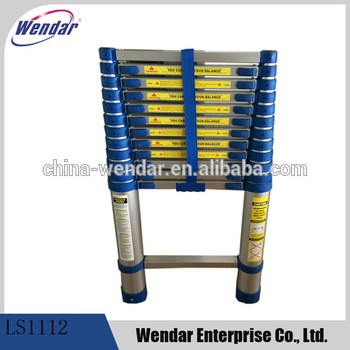 3.8m铝合金伸缩梯与EN131审批