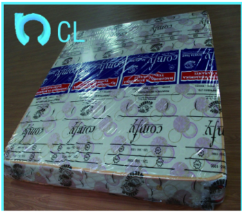 中国PVC印刷WAP滚动床垫薄膜标志或图案