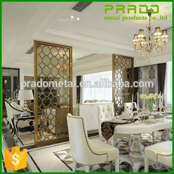New Design Chinese Laser Cut Stainless Steel Metal Decorative Room