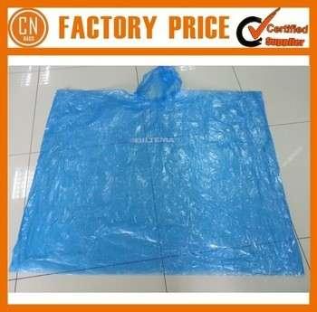 2015标识印刷促销透明PVC雨衣一次性塑料雨衣