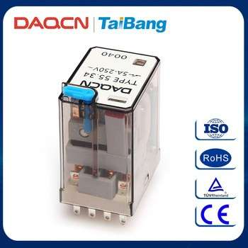 DAQCN Low Price 12V 55.34电动仪继电器通用继电器