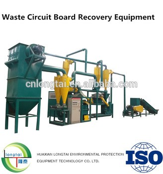 Electronics Scrap PCB Recycling Plant For Sale