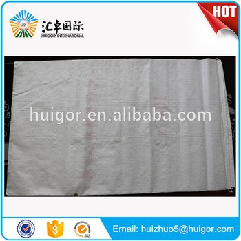 Wholesale custom 50 kg plastic pp pe coated polypropylene woven bags for packing cement flour sugar fertilizer sand grain rice