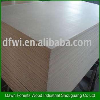 普通中密度纤维板/中密度纤维板三聚氰胺板