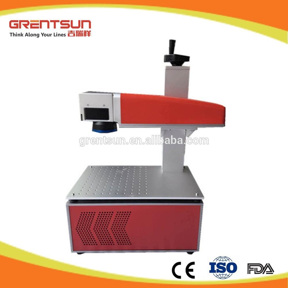 Mini 20w Fiber Electronic Laser Marking Machine For Printed Circuit Board Chipmobile Phone Shell