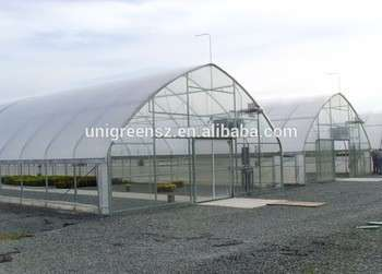 Single-span Prefabricated plastic film greenhouse