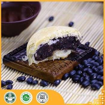 chinese popular healthy leisure food Redstar black soya bean crispy pastry