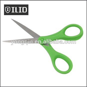 5英寸精密文具剪刀和切好的PP塑料手柄,专利设计