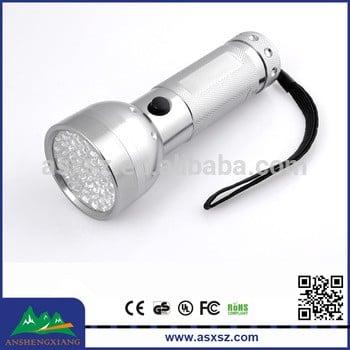 51LED 395 nm Led Purple Light UV Flashlight, UV Blacklight Flashlight Urine Detector, UV LED Torch