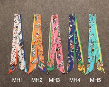 手工带Twilly丝带领带丝巾批发mh1-mh5装饰处理