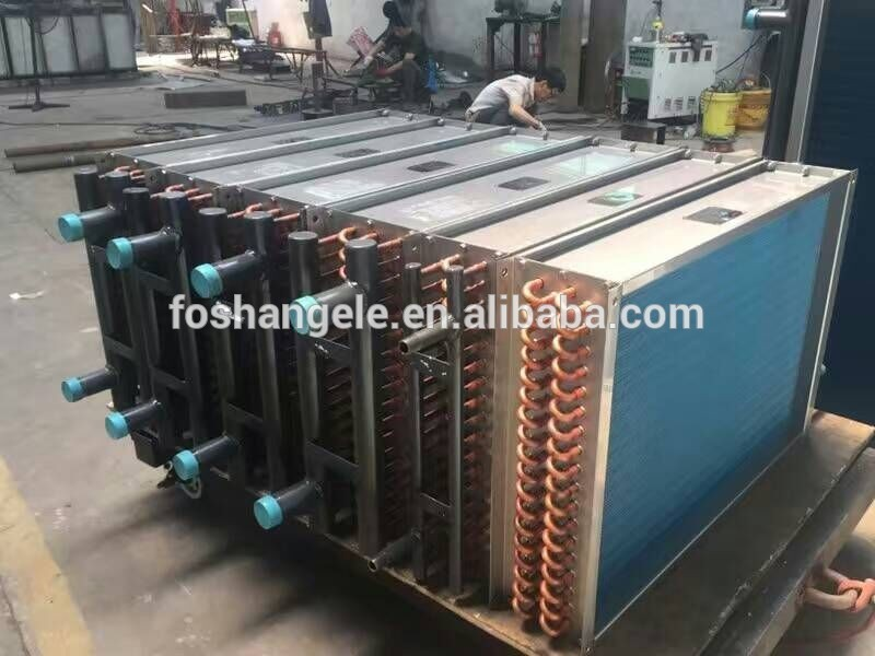 Finned Tube Air Cooled Heat Exchanger / Condensers