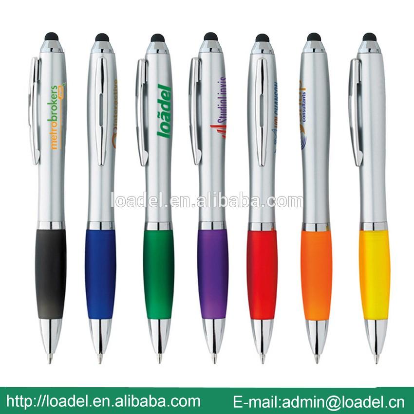 手机使用触摸屏笔笔与自定义标志笔