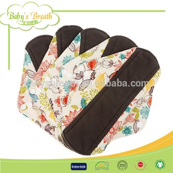 BCD091 Free Sample Soft Care Reusable Sanitary Pad Cloth