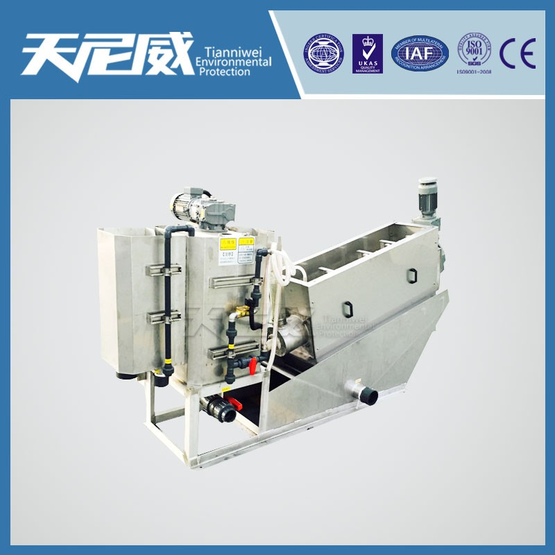 Oil field sewage treatment process equipment