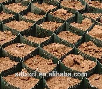 HDPE塑料土工格室、超声波焊接土工格室