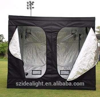 室内水培温室生长的8×8英尺的帐篷反射系统成长盒/完全生长套件1000w生长灯帐篷