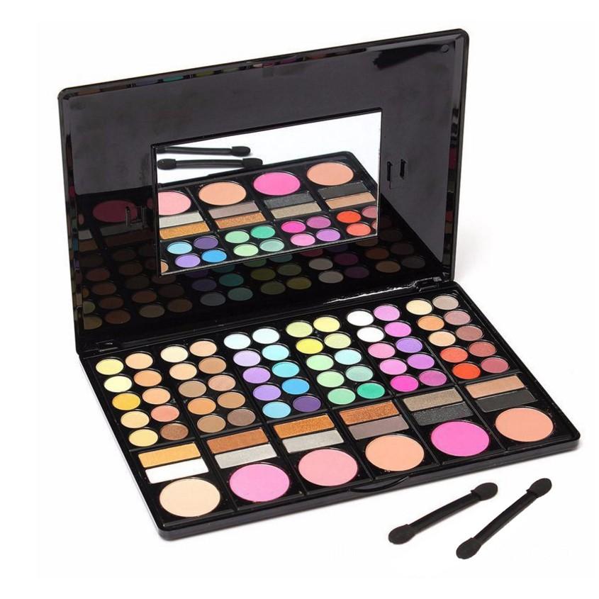 专业化妆品产品的防水78色眼影妆