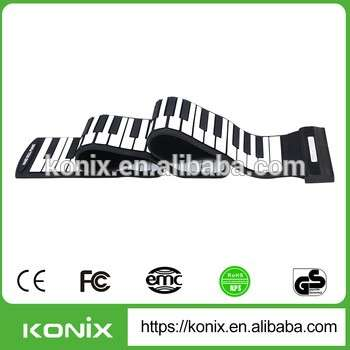 Children's Day Promotio Gift 88 Keys Roll Up Piano Keyboards