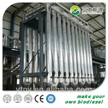 欧洲标准生物柴油机、食用油制生物柴油生产机