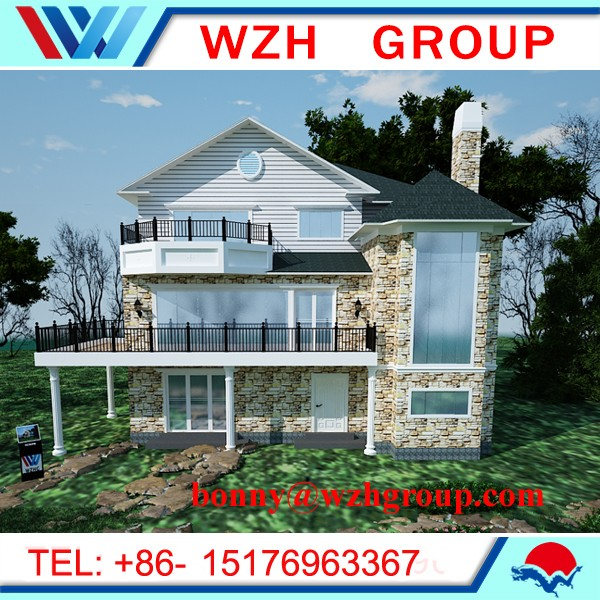 澳大利亚标准的300平方米轻钢别墅和房地产