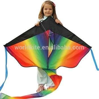 巨型彩虹三角风筝