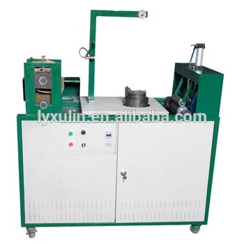 High efficiency Single needle mesh scrubber machine/automatic weaving machine
