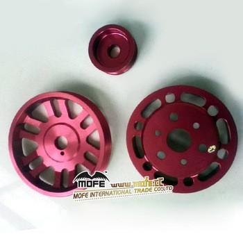 3滑轮/套铝轻量化发动机曲轴皮带轮