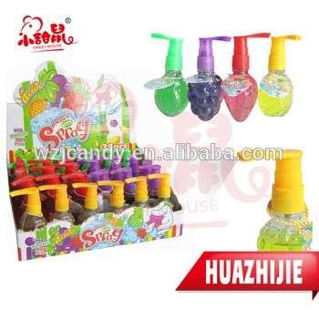458201610fruits混合水果酸甜的液体喷雾的糖果