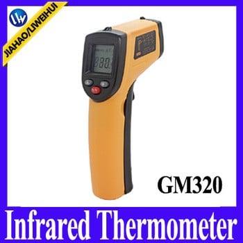 历史数字红外温度计无线智能数字温度计数字红外温度计温度设备gm320
