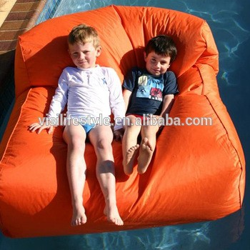 Pleasant Pool Furniture Outdoor Waterproof Bed Floating Bean Bag Chair Pabps2019 Chair Design Images Pabps2019Com