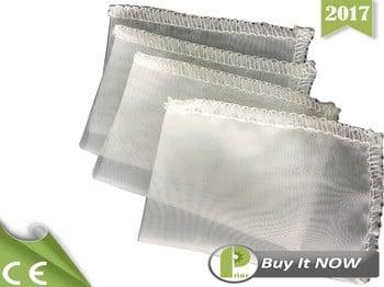 前2017热销售100%食品级尼龙90微米松香压滤机网袋