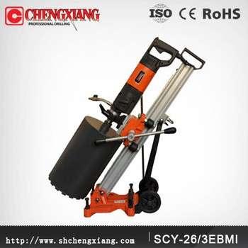cayken 165mm角度可调的核心混凝土切割钻孔机站scy-26 / 3ebmi