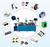 Fully automatic USB Assembly Machine,USB assembly line,USB making machine